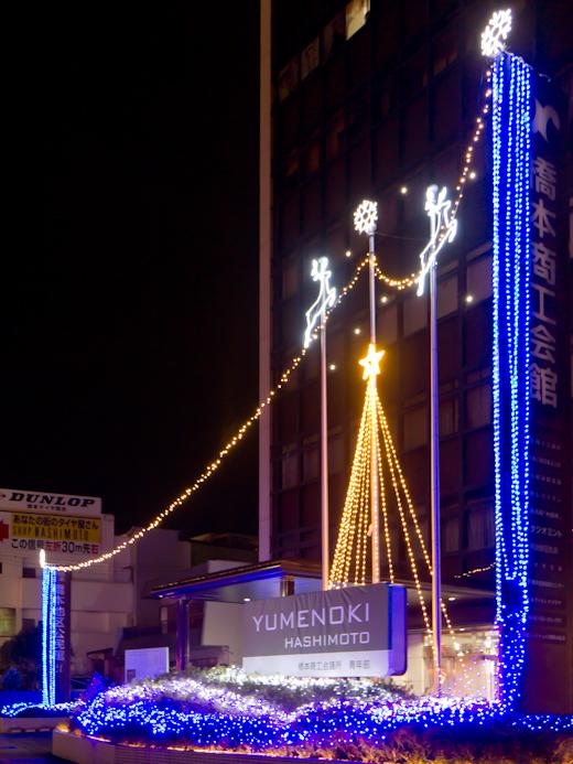 YUMENOKI点灯の様子