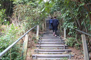 不動山 階段